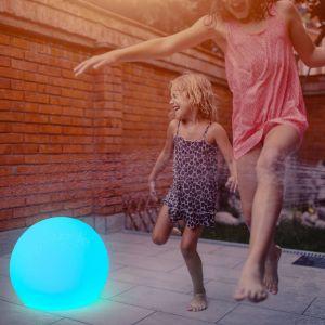Newgarden Buly lampe solaire LED sphère IP65 Ø50cm