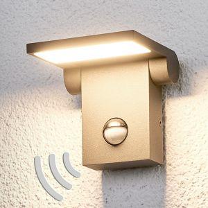 Marius - applique d'extérieur à capteur avec LED