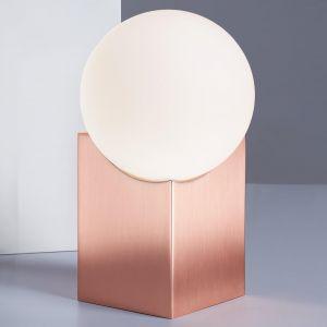 Lampe à poser Cub 17,5cm cuivre