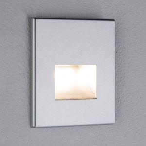 Paulmann applique encastrable LED Edge, chromé mat