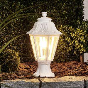 Borne lumineuse LED Mikrolot Anna, E27, blanc