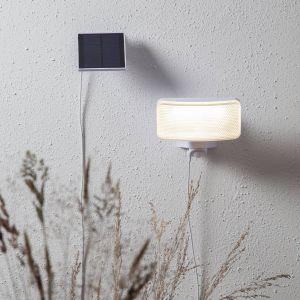 Lampe solaire LED Powerspot Sensor ang blanc 350lm