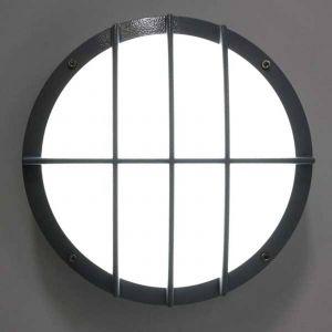 Applique LED SUN 8, alu moulé, 13 W 4 k détecteur