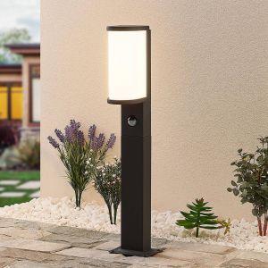 Lucande Jokum borne LED, IP54, 60cm, capteur