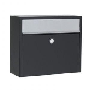 Boîte aux lettres LT150 noire Euro