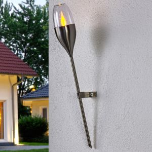 Applique solaire Jari avec LED vacillante