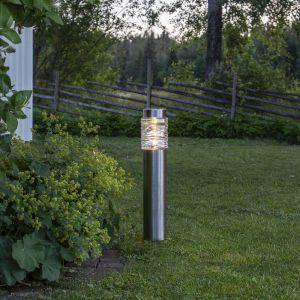Lampe solaire LED Capri - un potelet autonome