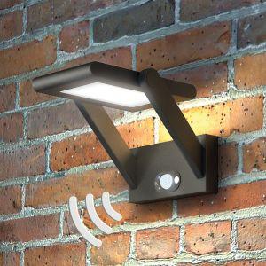 Applique d'extérieur LED solaire Valerian