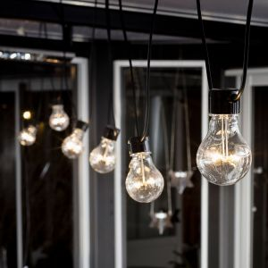 Guirlande LED Biergarten extension, blanc chaud