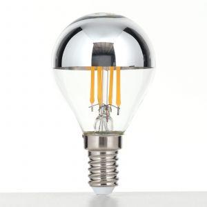 LED à tête miroir E14 4W blanc chaud dimmable
