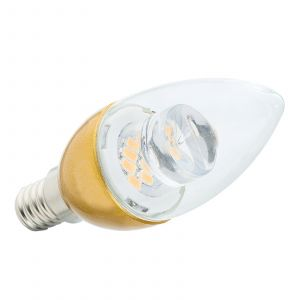 Ampoule flamme LED E14 4,5W 827