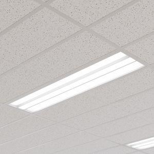 Panneau LED Malo plafond à grilles, 30cm x 120cm