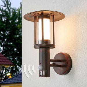 Applique d'extérieur à capteur Pavlos avec LED