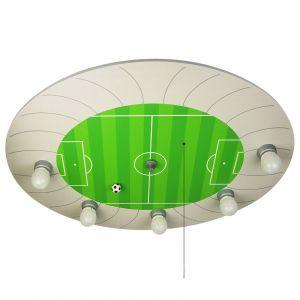 Plafonnier Stade de football avec module Alexa