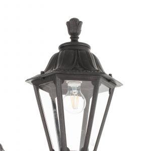 Lampe mât LED Ricu Bisso/Rut 2L 8W 2700K noire