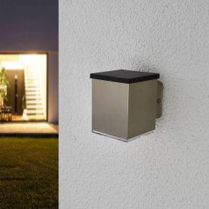 Applique solaire LED Tyson, angulaire transparent