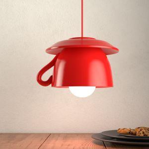 Tazza - suspension céramique rouge pour la cuisine