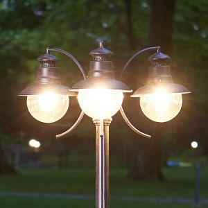 Candélabre Eddie à trois lampes IP44