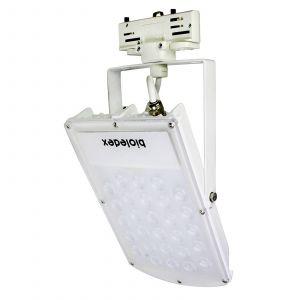 Spot LED Astir triphasé 70° blanc 30W 3000K