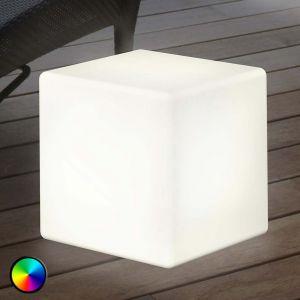 Lampe décorative extérieur LED Shining Cube 43 cm