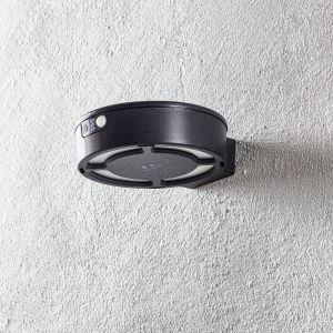 Applique LED Fortunato noire CCT capteur