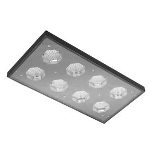 Spot LED pour halls ou projecteur Wide Beam 174 W