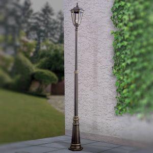 Lampadaire Fabio brun à 1 lampe 211 cm