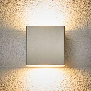 Applique extérieur LED Jana acier inox 10 x 10cm