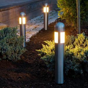 Lot de 3 potelet LED Amalfi avec piquet