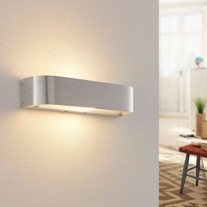 Applique en aluminium Nika avec ampoule LED E14