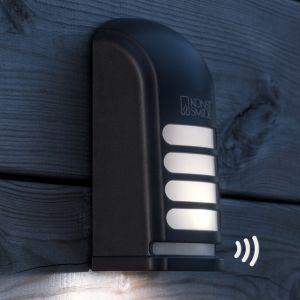 Applique d'extérieur LED Prato à détecteur