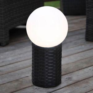 Boule LED solaire Lug avec socle d'un Ø de 20 cm
