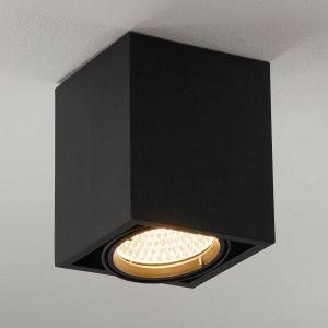 Arcchio Cirdan plafonnier LED à 1 lampe noir