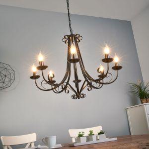 lustre style campagne comparer 23 offres. Black Bedroom Furniture Sets. Home Design Ideas