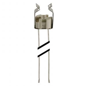 Douille ampoule halogène réflecteur basse tension