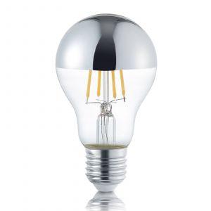 Ampoule LED à tête miroir E27 4W, blanc chaud