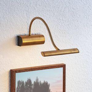 Applique pour tableau LED Rakel, laiton ancien