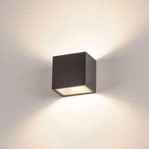 SLV Sitra Cube applique LED d'extérieur anthracite