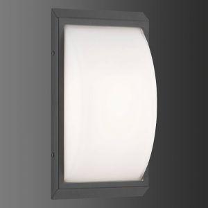 Applique d'extérieur LED 053, détecteur, graphite