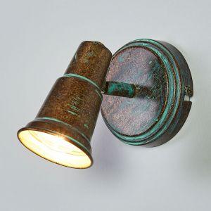 Spot antique Arielle, aspect vert-de-gris