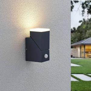 Applique d'extérieur LED Sally, à 1 lampe, capteur