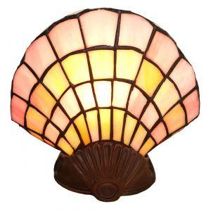 Applique déco 6000, coquille verre, design Tiffany