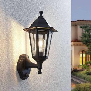 Applique d'extérieur Nane lanterne avec capteur