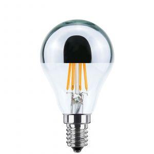 Ampoule tête miroir LED E14 4W blanc chaud 2700K