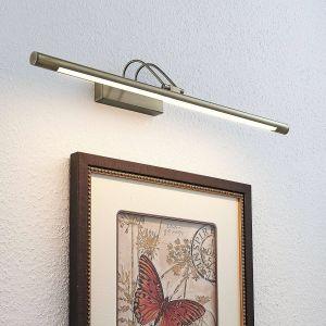 Applique tableau LED Mailine interr. laiton ancien