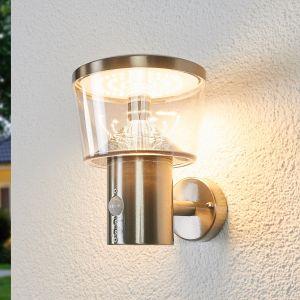 Applique d'extérieur LED Antje à capteur