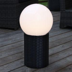 Boule LED solaire Lug avec socle d'un Ø de 25 cm