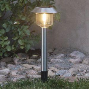 Lampe solaire LED Fille, lampe sur piquet lanterne