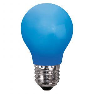 Ampoule LED E27 pour guirlande, anti-casse, bleue