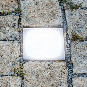 Spot encastrable LED Pavé, carrossable